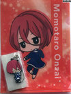 [Pre-owned]-B-PROJECT--Kodou-Ambitious--A5-Clear-File-and-Rubber-Strap-(Momotaro-Onzai)