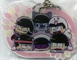 [Pre-owned] Osomatsu-san Acrylic Mascot (Group Todomatsu version)