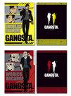 Gangsta. 3 Pocket Clear File