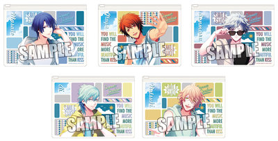 Uta no Prince-sama Full Color Clear Pouch SMILE SHOT Ver