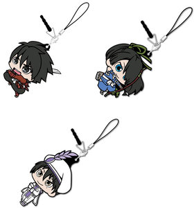 Drifters KanaChibi Rubber Strap